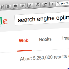 A close up of a Google search bar | Tribus Creative - SEO for small businesses