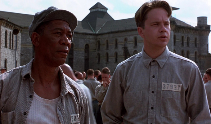 Screenwriting and marketing — A still from The Shawshank Redemption