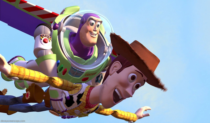 Screenwriting and marketing — A still from Toy Story